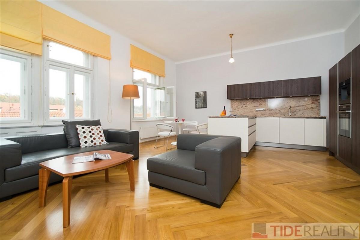 Luxusní byt 2+kk, Praha 1, U Milosrdných