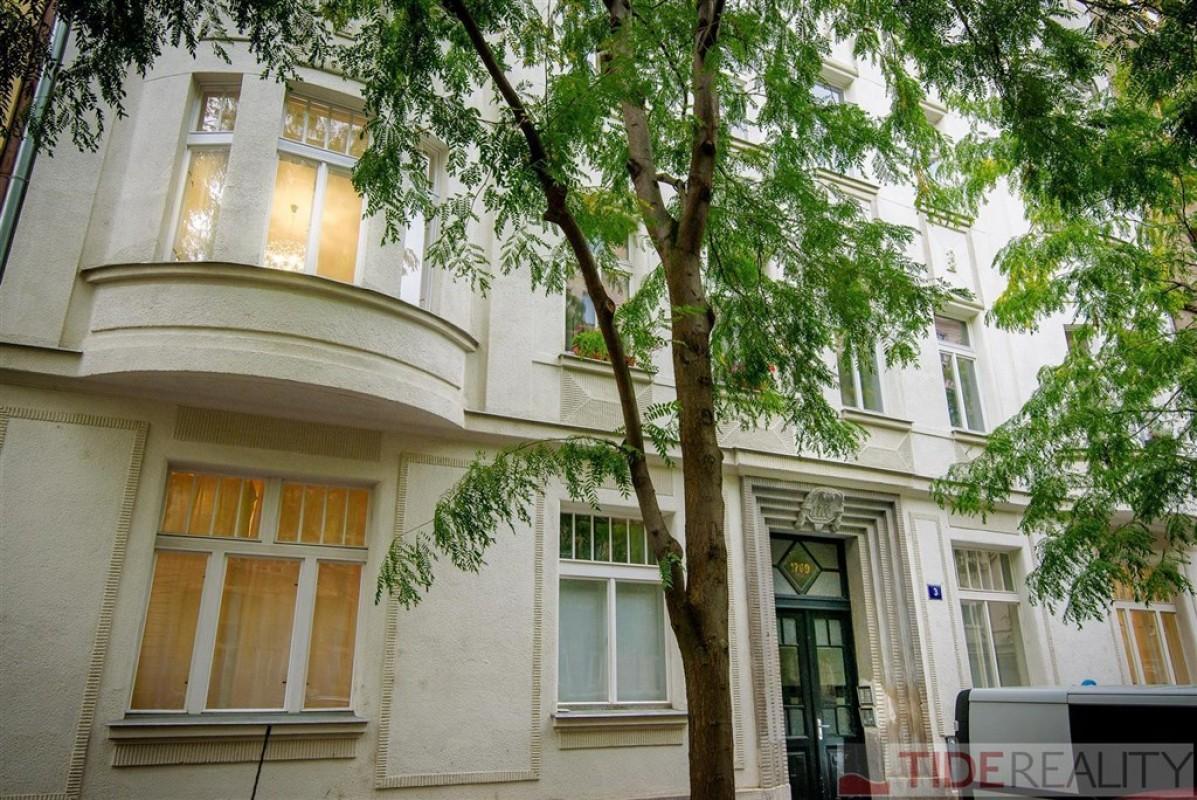 Pronájem krásného, světlého bytu 3+kk, Vinohrady, Praha 2, Jagellonská ul.