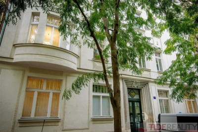 Rent of sunny, fully furnished apartment 3+kk, Praha 2, Vinohrady, Jagelonská str.