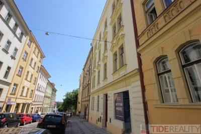 Pronájem zrekonstruovaného bytu 3+kk, Praha 2, Rybalkova ul.