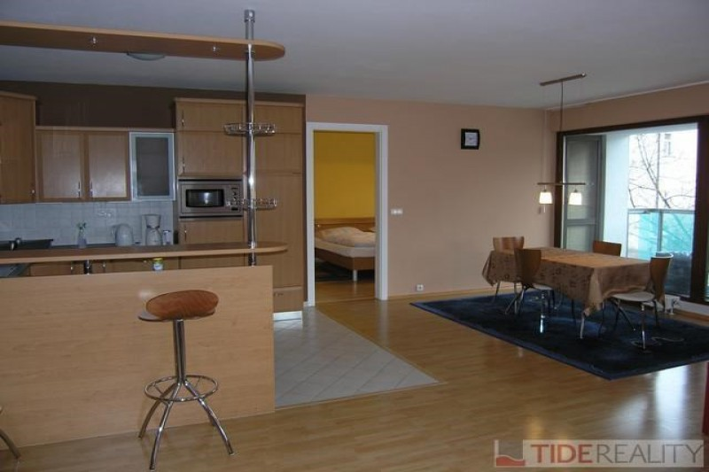Rent of spacious apartment in the brand new building, Brabcova st., Prague 4 Podolí