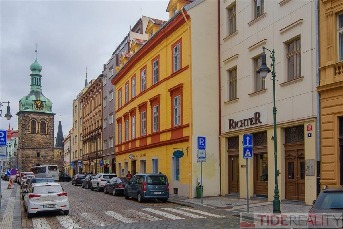 Pronájem luxusního  bytu 3+kk, Petrská ul., Praha 1