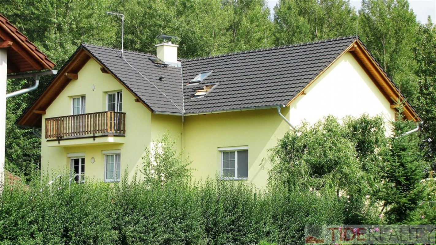 Pronájem moderní vily v Průhonicích, 6+1, Pod Valem II, Praha 4