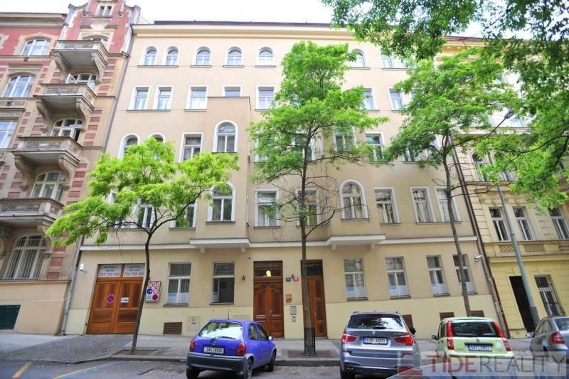 Pronájem mezonetového bytu na Vinohradech, Mánesova, Praha 2