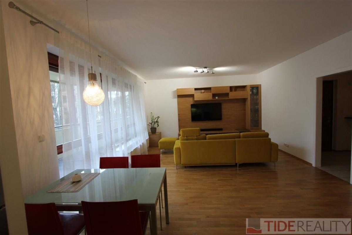 Pronájem zařízeného bytu 3+kk, Praha 9, Vysočany, Podvinný Mlýn