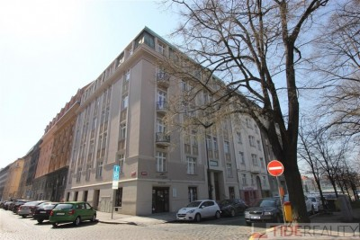 Rent of bright apartment in  the city centre, Praha 2, Dřevná str.