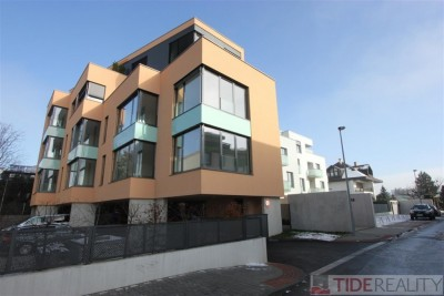 Modern new building 2+kk apartment with fully fitted kitchen in Braník, Praha 4, Nad Ryšánkou