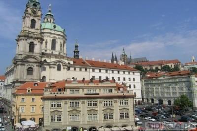 Pronájem mimořádného, stylového bytu, Malostranské náměstí, Praha 1, Malá Strana
