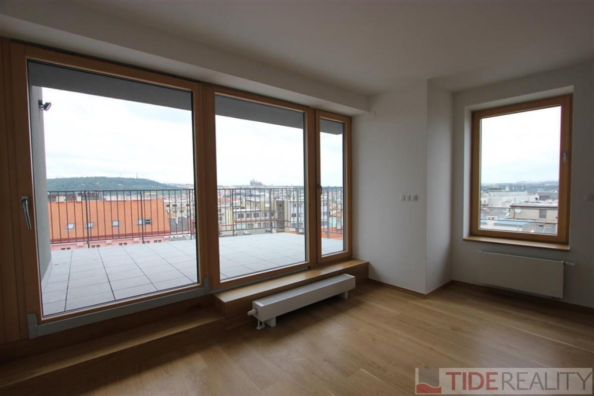 Pronájem novostavby bytu centru, Praha 1, Krakovská ul.