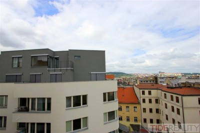 Rent of new building apartment with terrace in the city centre, Praha 1, Krakovská str.