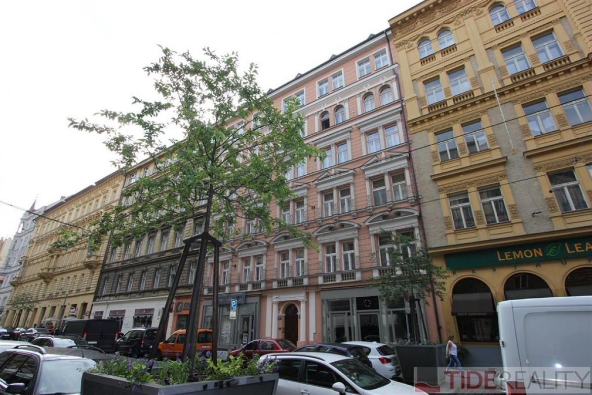 Pronájem útulného, zařízeného bytu, Myslíkova, Nové Město, Praha 2