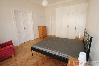 Rent of newly reconstructed apartment in the centre, Myslíkova st., Prague 2