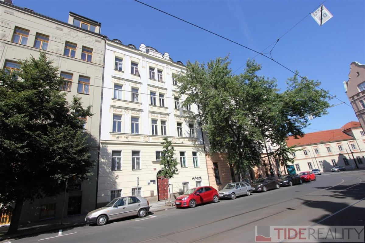 Pronájem prostorného bytu Praha 2, Svobodova ul.