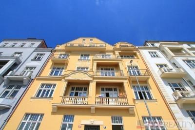 Pronájem právě dokončeného bytu na Vinohradech, U Havlíčkových sadů