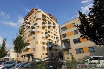 Útulný, zařízený byt 2+kk v novostavbě Praha 5, Nárožní ul.