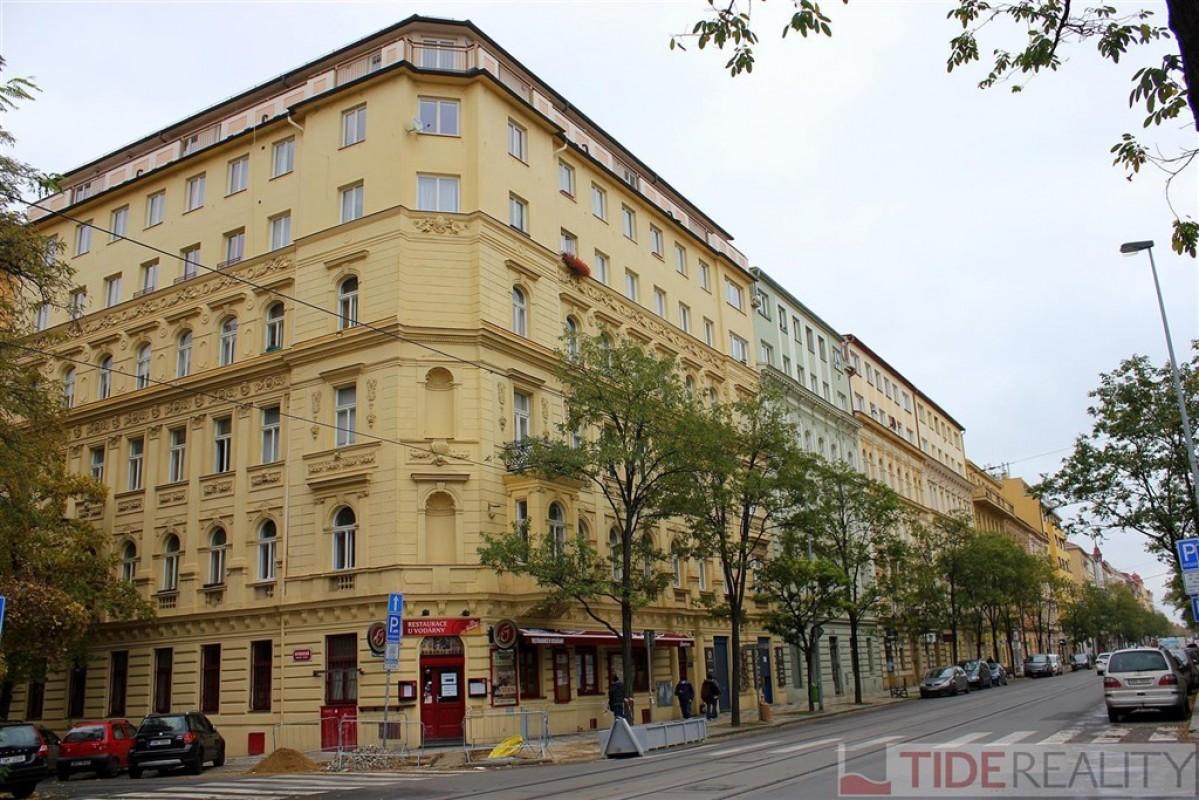 PRODÁNO.Byt 2+kk, 38,4m2, 3.NP, ulice Korunní, Praha 2, Vinohrady