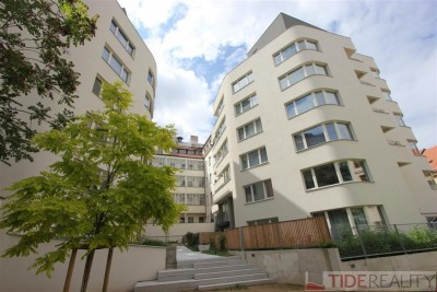 Pronájem luxusního bytu v novostavbě u Václavského náměstí, Praha 1