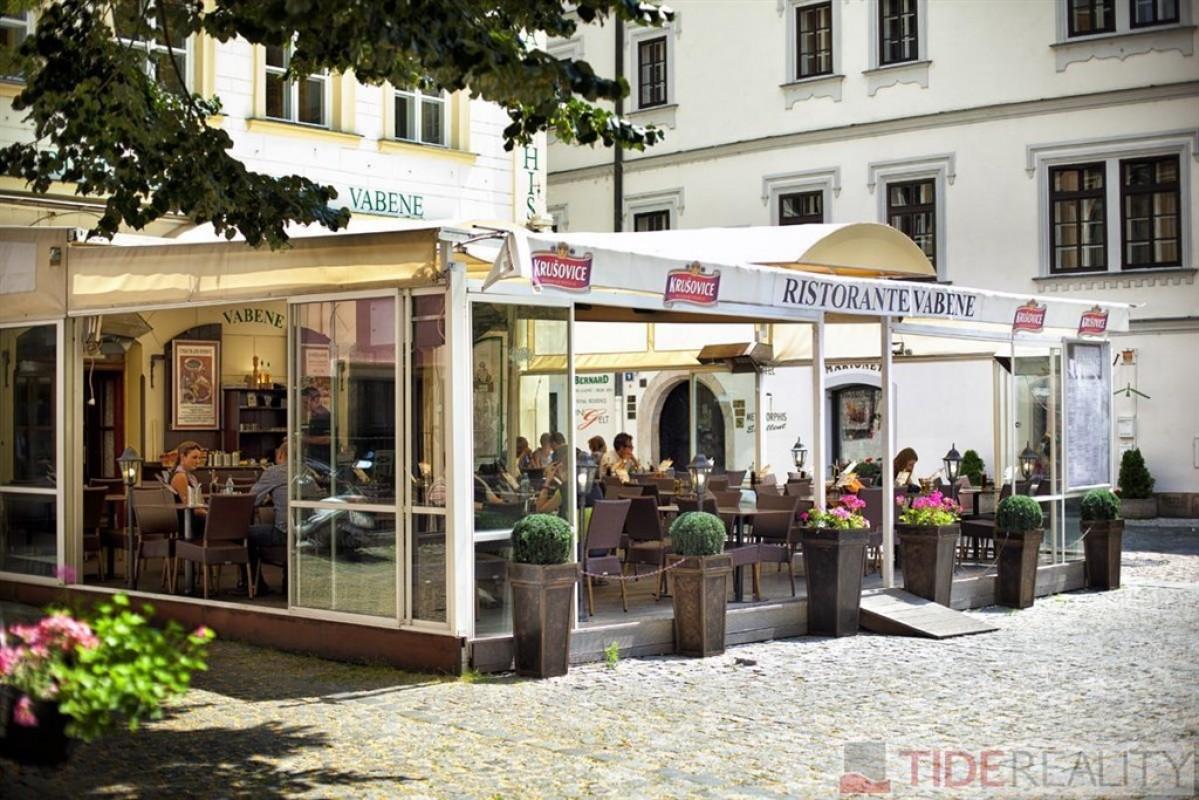 Pronájem kompletně vybavené restaurace v Ungeltu, Praha 1, Malá Štupartská