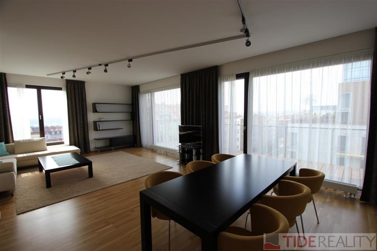 Novostavba bytu 3+kk, Korunní dvůr, Vinohrady, Praha 3, Korunní ul.