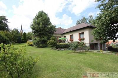 Prodej RD 320 m2, pozemek 1355m2, garáže, bazén, obec Vavřinec, okr. Kutná hora
