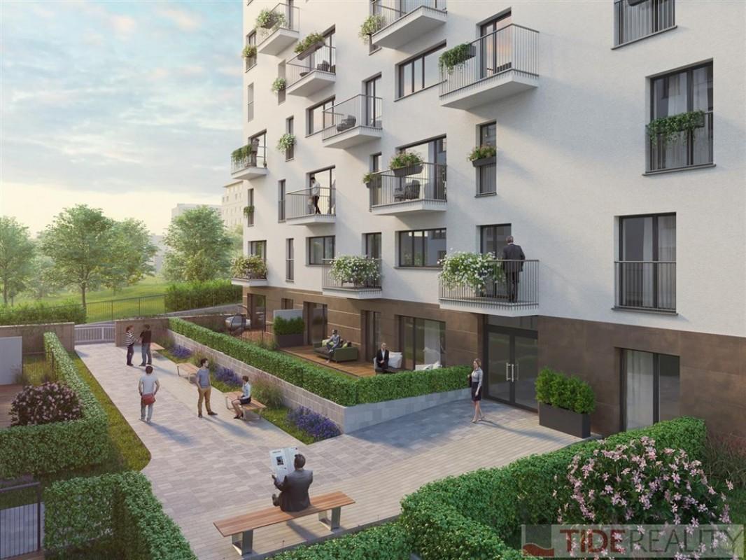 Ateliér 1+kk s balkonem 6 m2 v novém projektu Ateliéry Strašnice