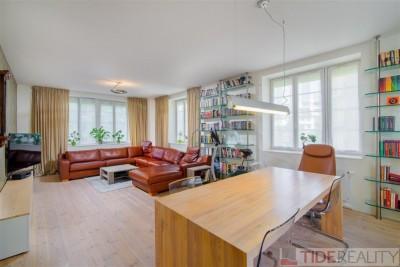 Pronájem prostorného bytu 5+kk, 174 m2,  Areál Hvězda, Praha 6