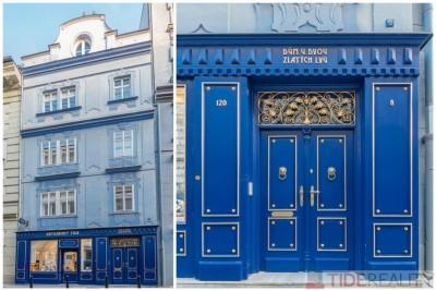 Pronájem stylového bytu v centru, Mikulandská ul. Praha 1