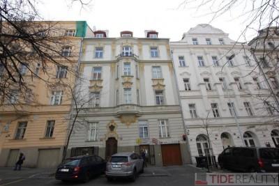 Krásný, mezonetový byt 3+1, Praha 2, Vinohrady, Moravská ul.