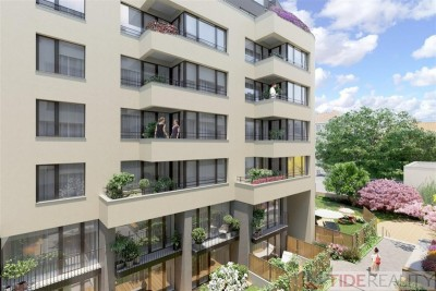 Novostavba bytu 2+kk, 6.NP, v centru Prahy, ulice Krakovská